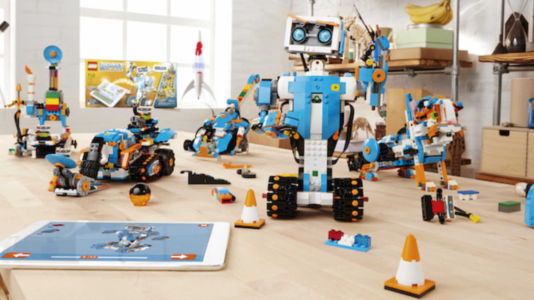 LEGO BOOST Brings Toys to Life by Teaching Kids How to Code