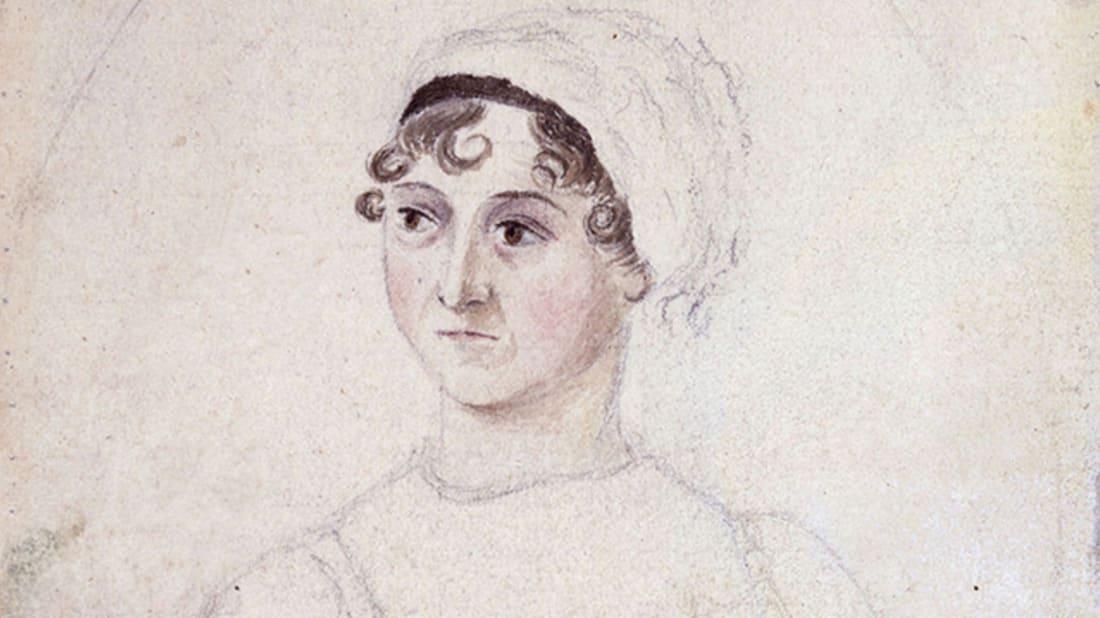 Cassandra Austen courtesy the National Portrait Gallery via Wikimedia Commons // Public Domain