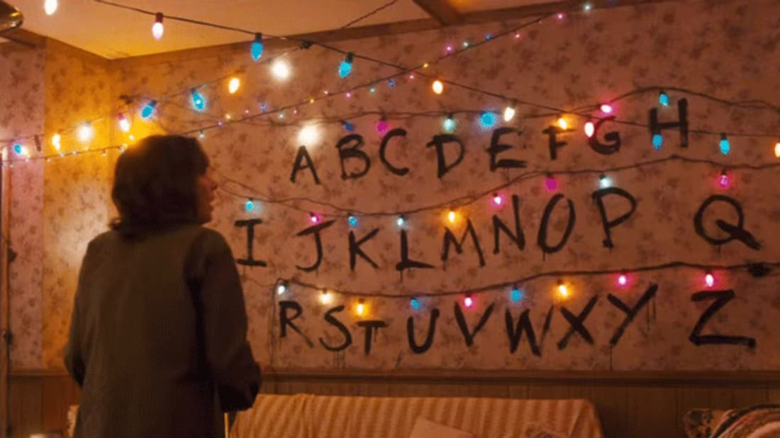 Stranger Things Christmas Lights Png.Stranger Things Mania Leads To Holiday Light Shortage At