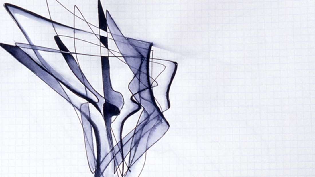 Sketch Selection from Sketchbook 2001; © Zaha Hadid Foundation
