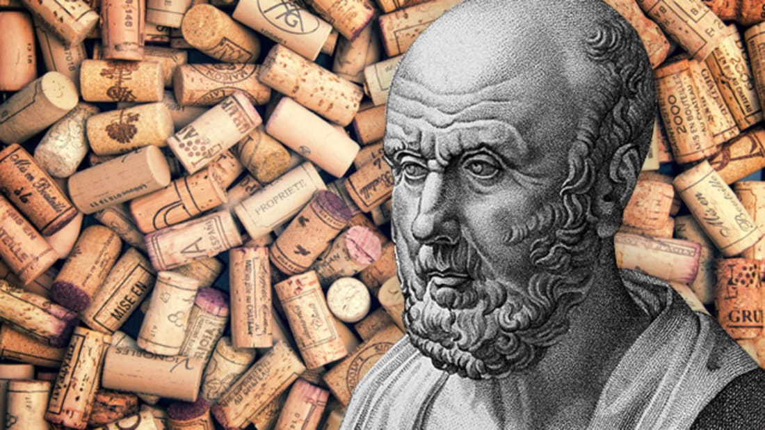 REBECCA O'CONNELL // WELLCOME IMAGES (HIPPOCRATES), ISTOCK (BACKGROUND)