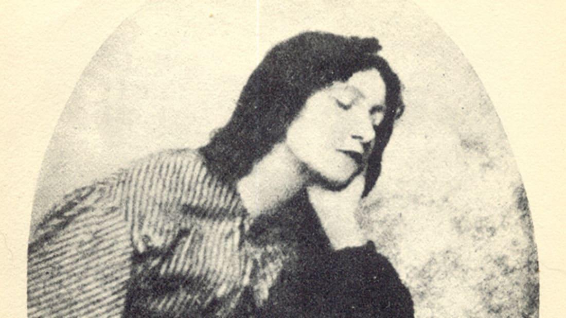 Elizabeth Siddal. ViaWikimedia // Public Domain