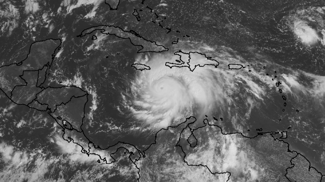 Hurricane Matthew on October 3, 2016. Image credit: NOAA/NASA
