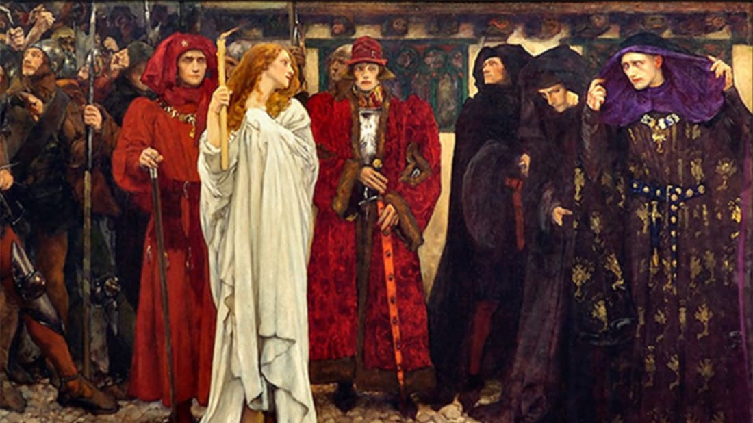 "Edwin Austin Abbey, ""The Penance of Eleanor, Duchess of Gloucester,"" Carnegie Museum of Art // Public Domain"