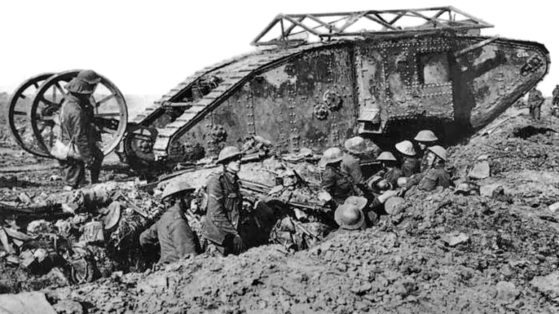 WWI Centennial: Rise Of The Tanks | Mental Floss
