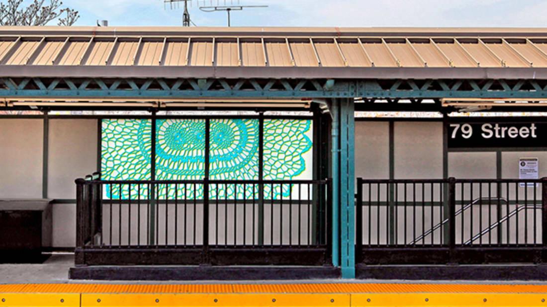 Art by Susanna Star, photo courtesyMetropolitan Transportation Authority via Flickr // CC BY 2.0