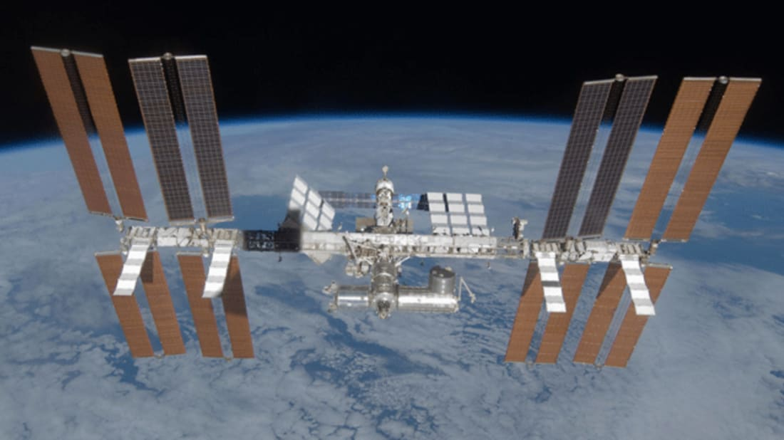 International Space Station. Image credit: Wikimedia Commons // Public Domain
