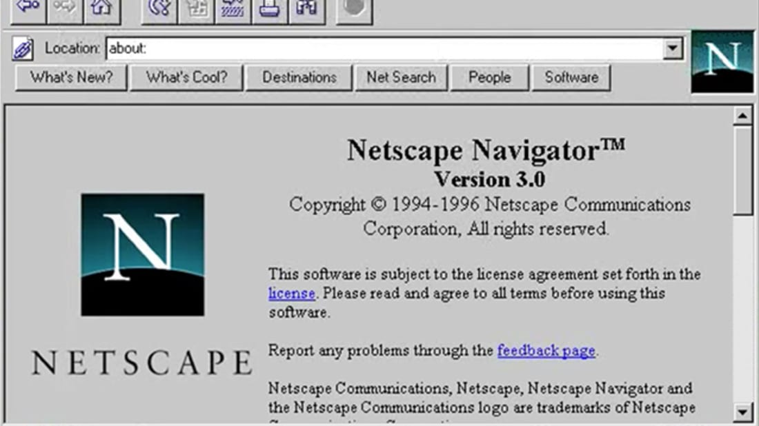 YouTube // Netscape communications