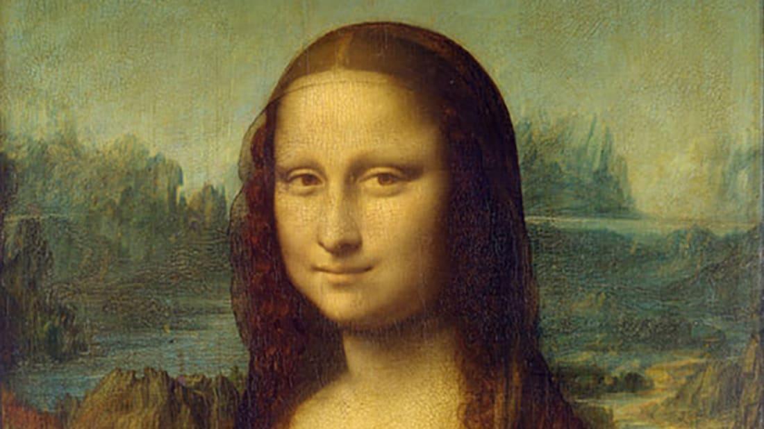 Mona Lisa by Leonardo da Vinci, ca 1503-1506. Photo by C2RMF via the History Blog