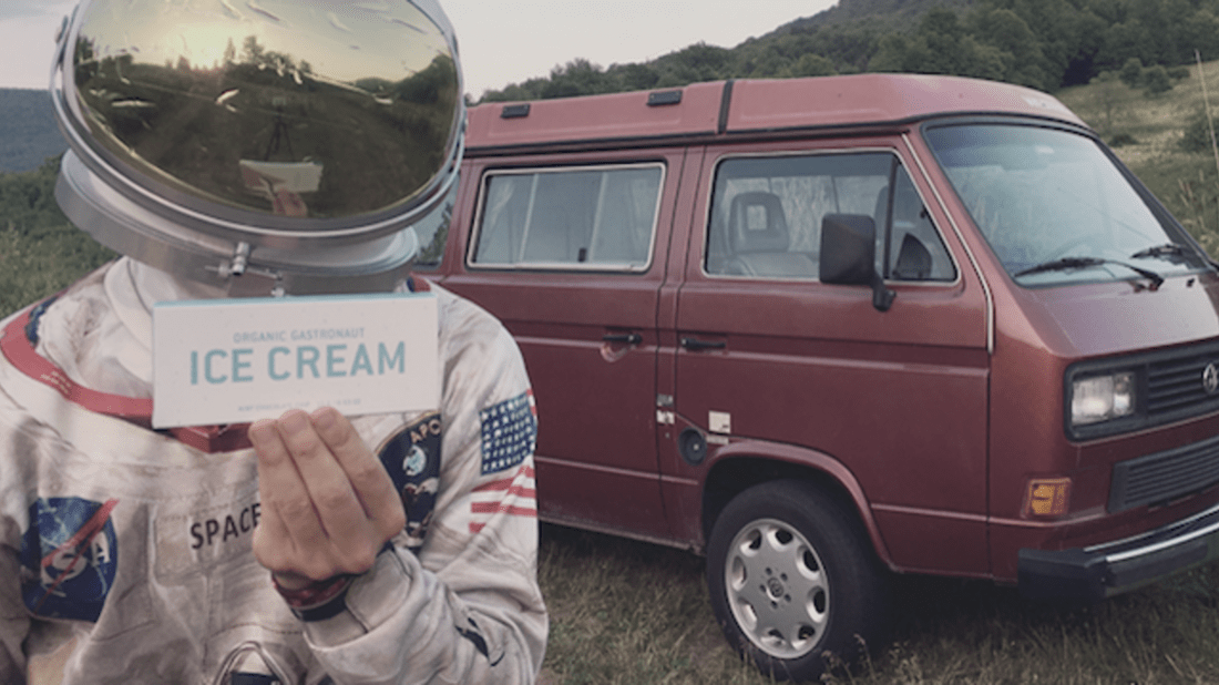 Gastronaut Ice Cream/Kickstarter