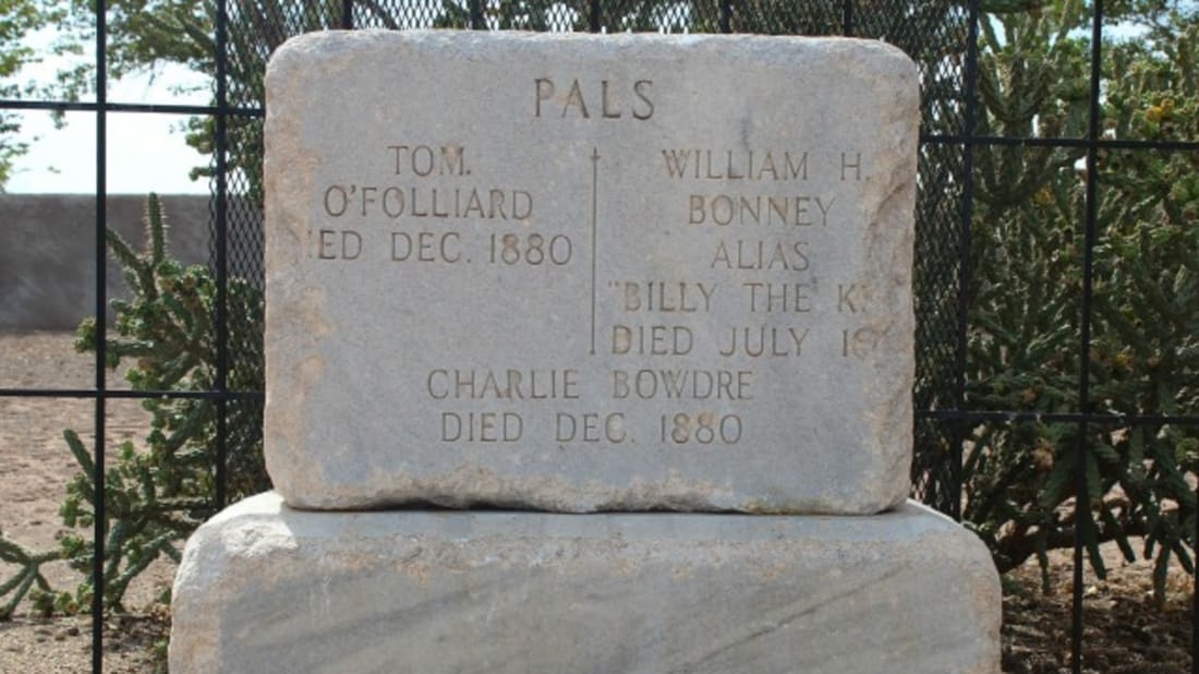 Why Billy the Kid's Tombstone Says 'Pals' | Mental Floss