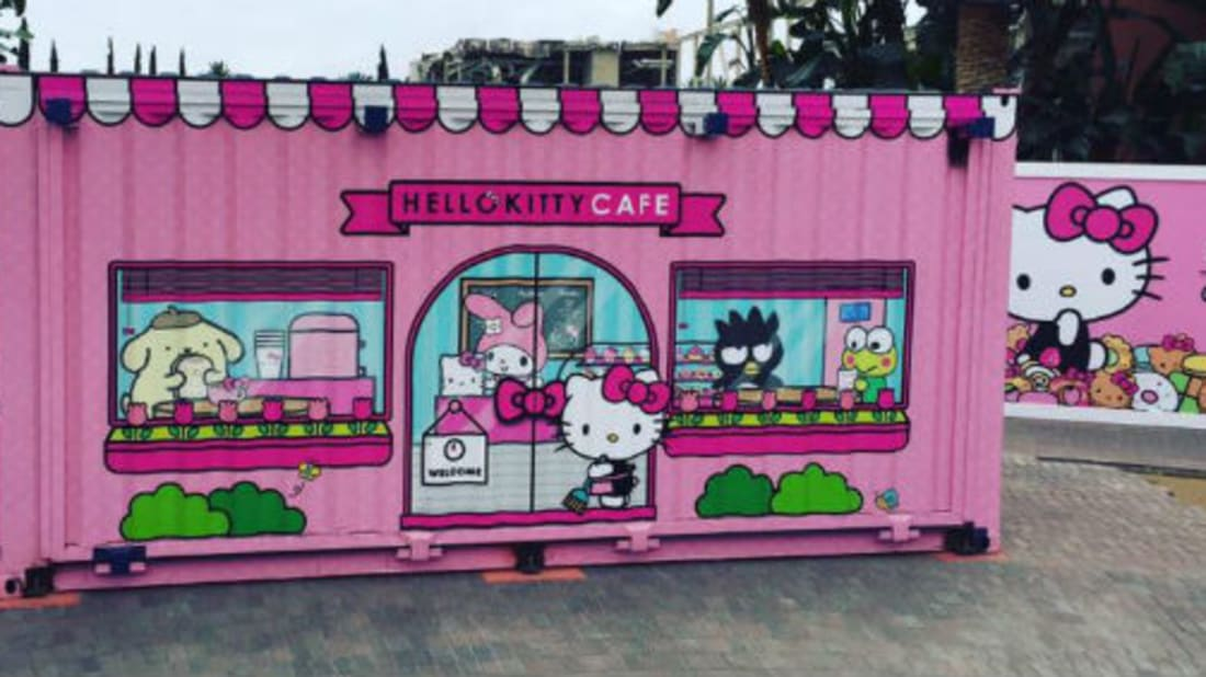 Hello Kitty Cafe via Facebook