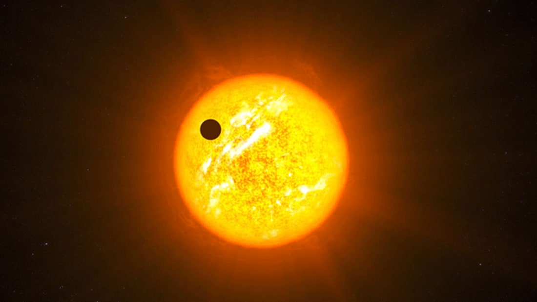 Artist's impression of an exoplanet. ESO/L. Calçada via Wikimedia Commons // CC BY 4.0