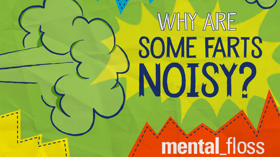 Why Are Some Farts Noisy? | Mental Floss