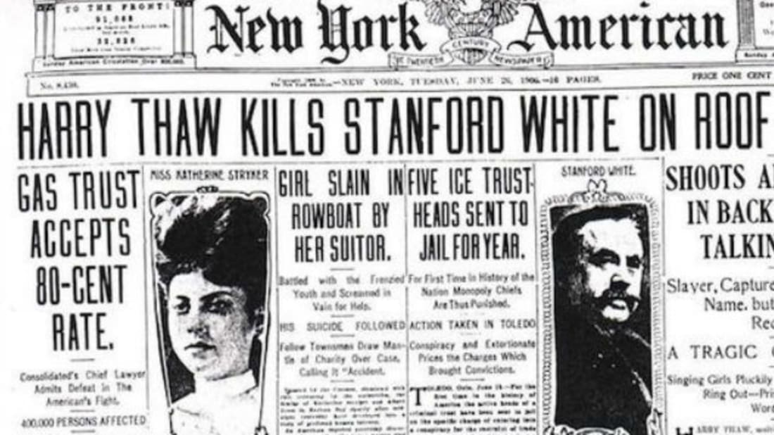 New York Americanon June 26th, 1906. //Wikimedia Commons