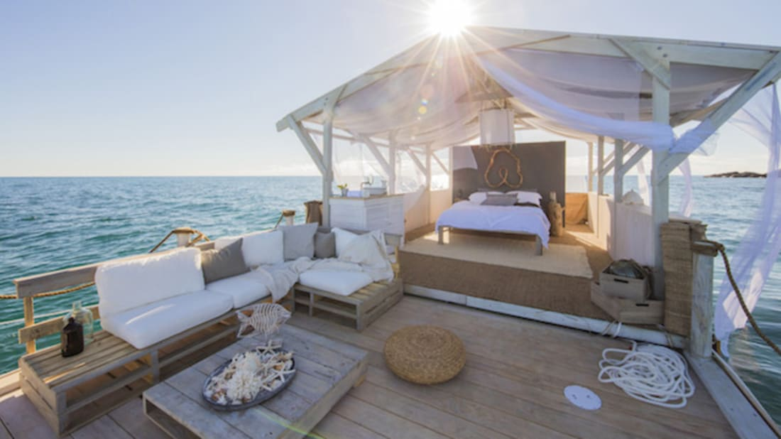 Win a Free Night's Stay on a Floating Airbnb on the Great