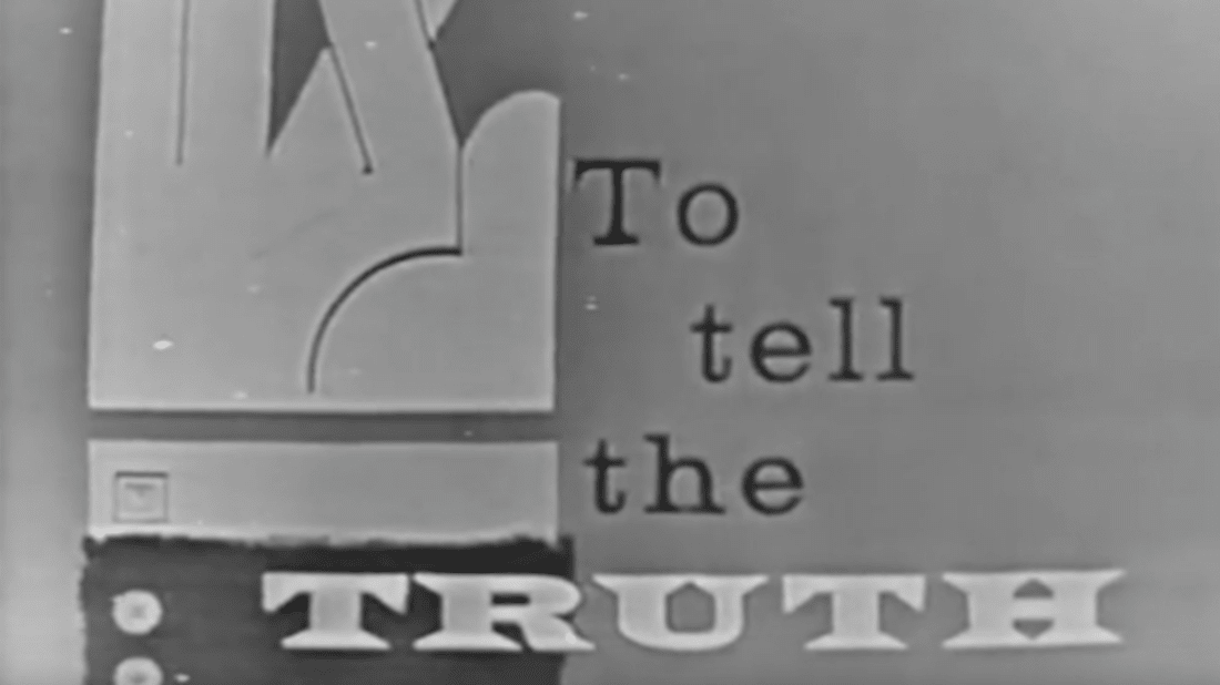 To Tell the Truth (CBS)/YouTube
