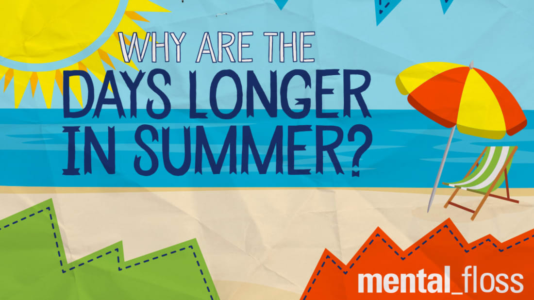 image relating to All Summer in a Day Worksheet named Why Are the Times For a longer time within Summertime? Psychological Floss