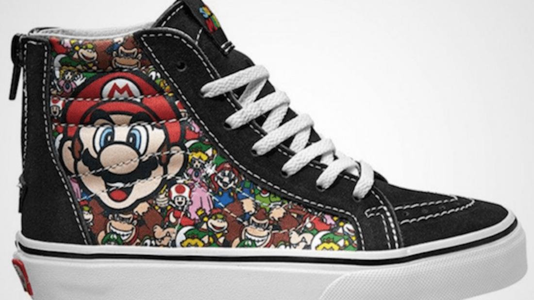 9b6f307c47ba8f Vans and Nintendo Are Partnering on a Retro Gaming Sneaker Line ...