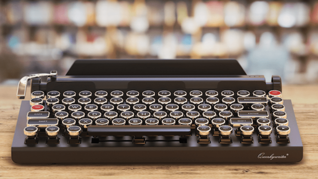 f18c9c872db Turn Your iPad Into a Typewriter With This Bluetooth Keyboard ...
