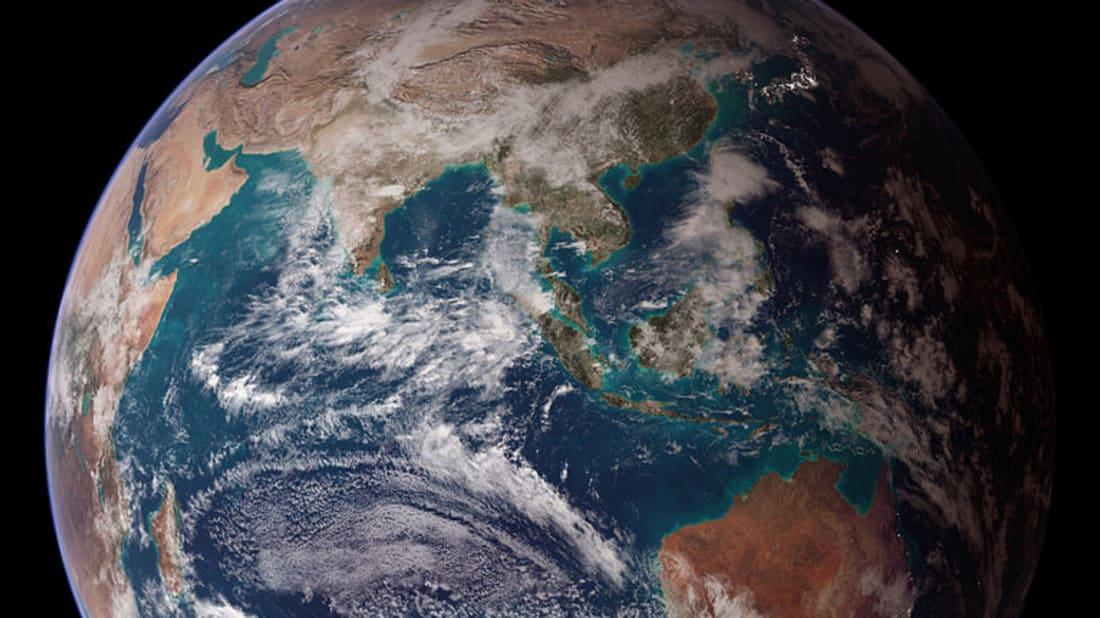 NASA images by Reto Stöckli via Wikimedia Commons // Public Domain