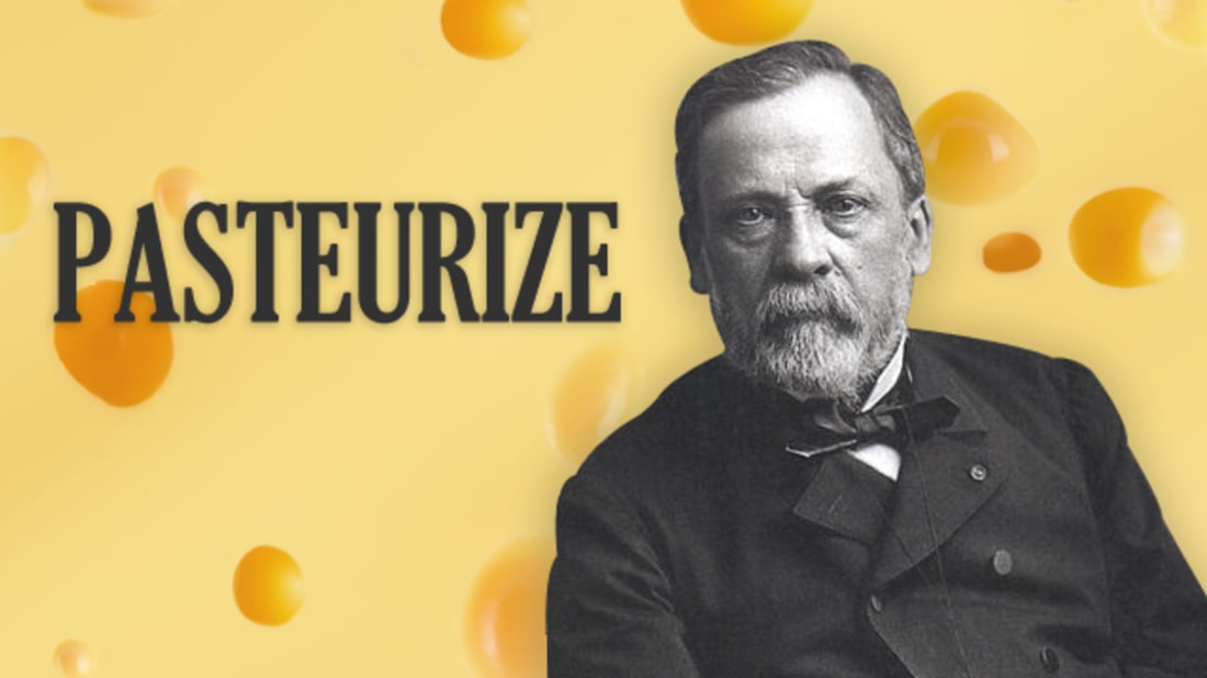iStock (background) / Wikimedia Commons (Louis Pasteur)