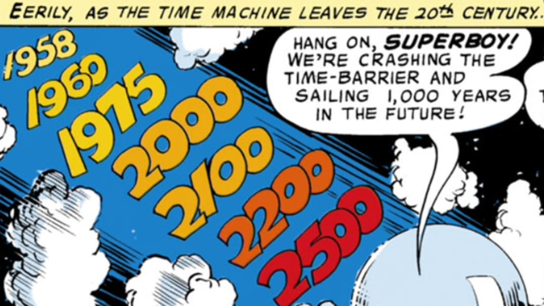 The 13 Most Interesting Time Travel Stories in Comics | Mental Floss