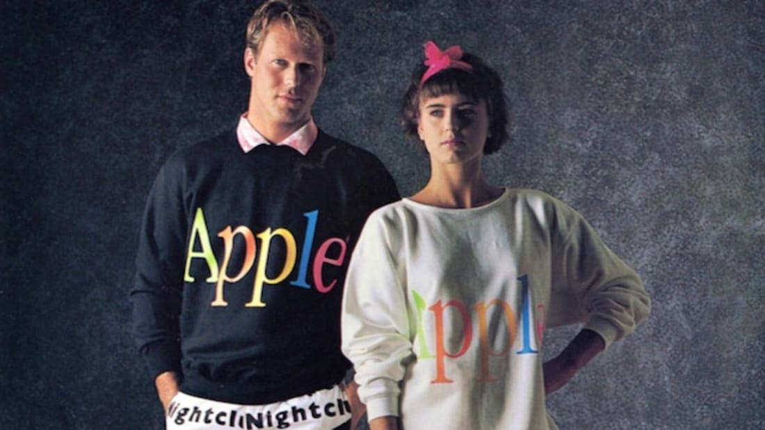 0120546639dc In 1986, Apple Launched a Clothing Line | Mental Floss