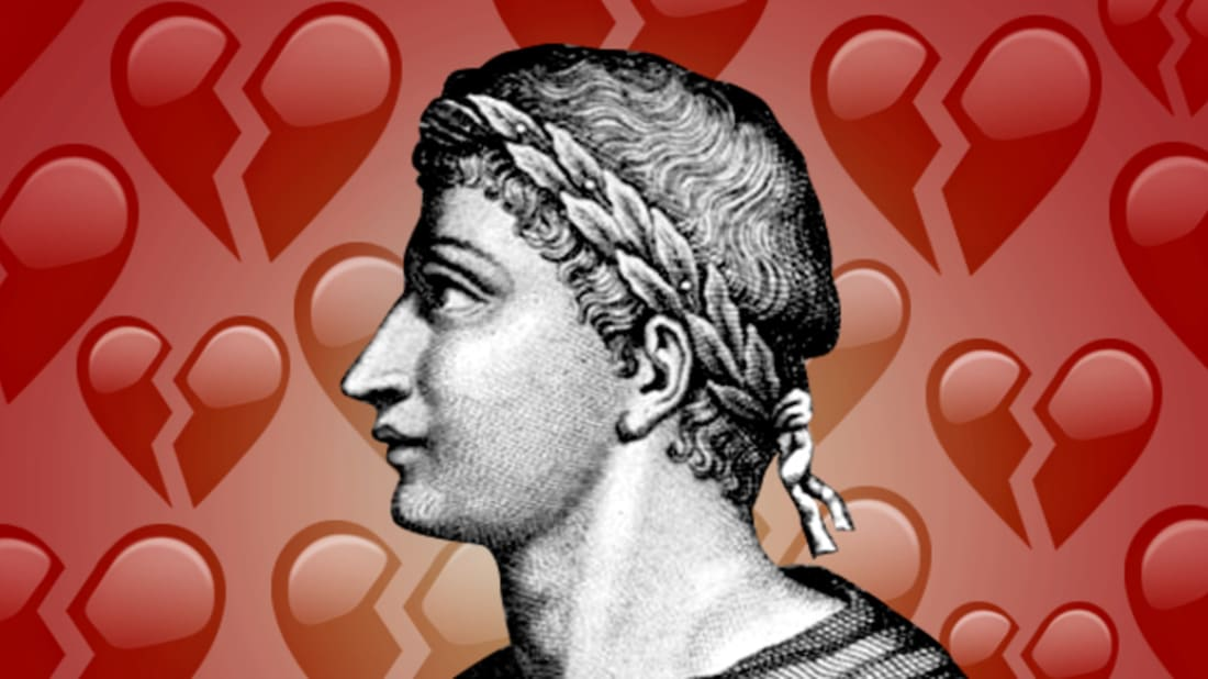 CHLOE EFFRON // WIKIMEDIA COMMONS (OVID), UNICODE (BACKGROUND)