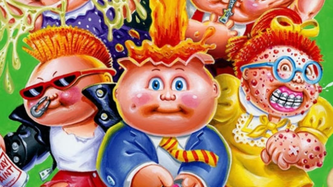 63d5a0bb5 Trash for Cash: An Oral History of Garbage Pail Kids | Mental Floss