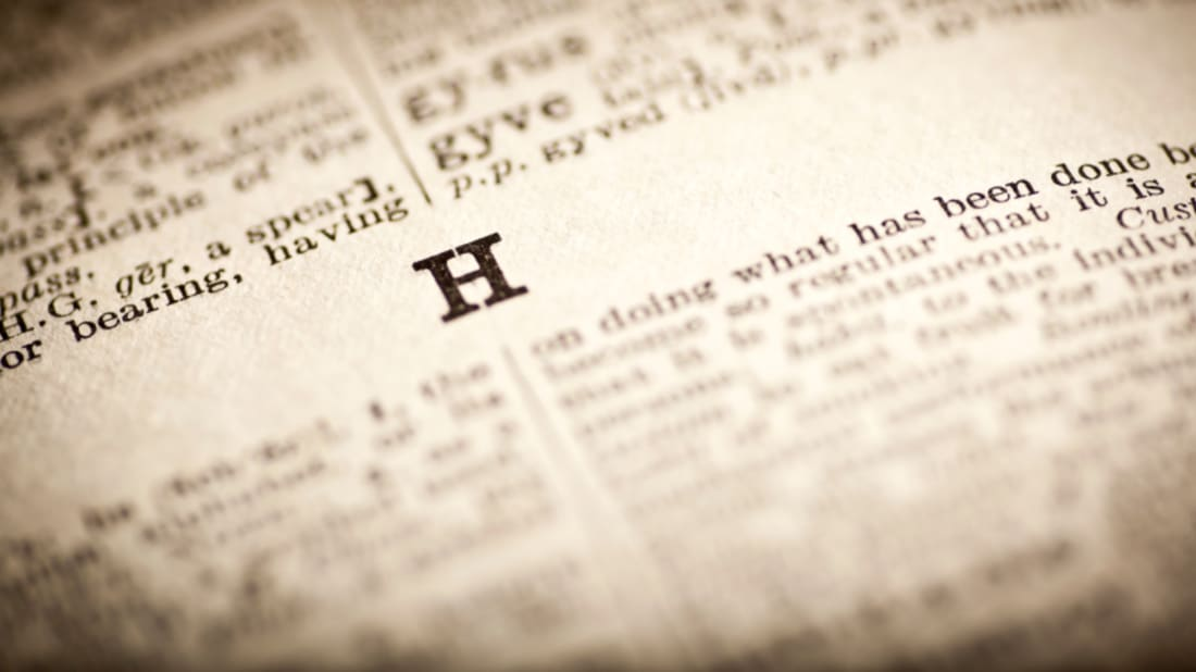 40 Highfalutin H-Words To Heighten Your Vocabulary | Mental Floss