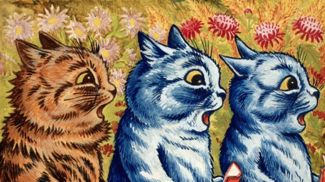 Louis Wain via Wellcome Images // CC BY 4.0