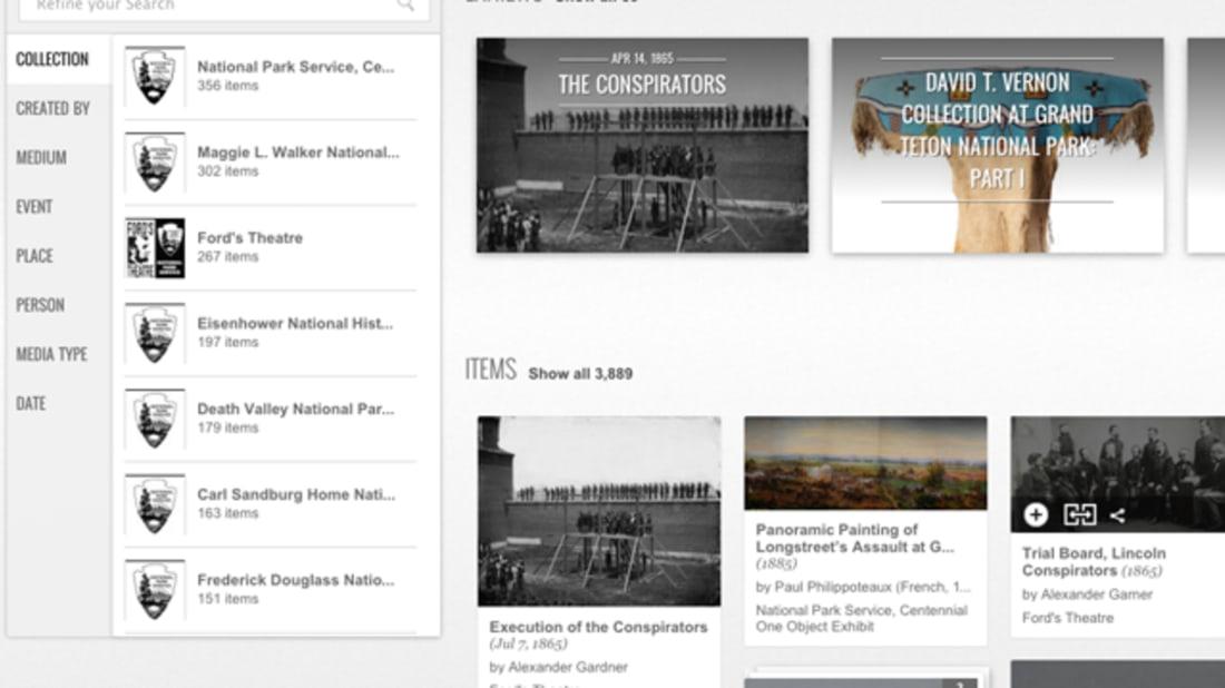 Screenshot // Google Cultural Institute
