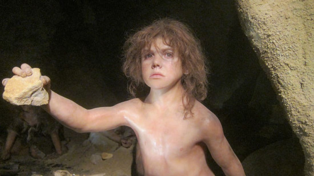 """Neanderthal Boy,"" Michael McCullough, Flickr // CC BY-NC-ND 2.0"