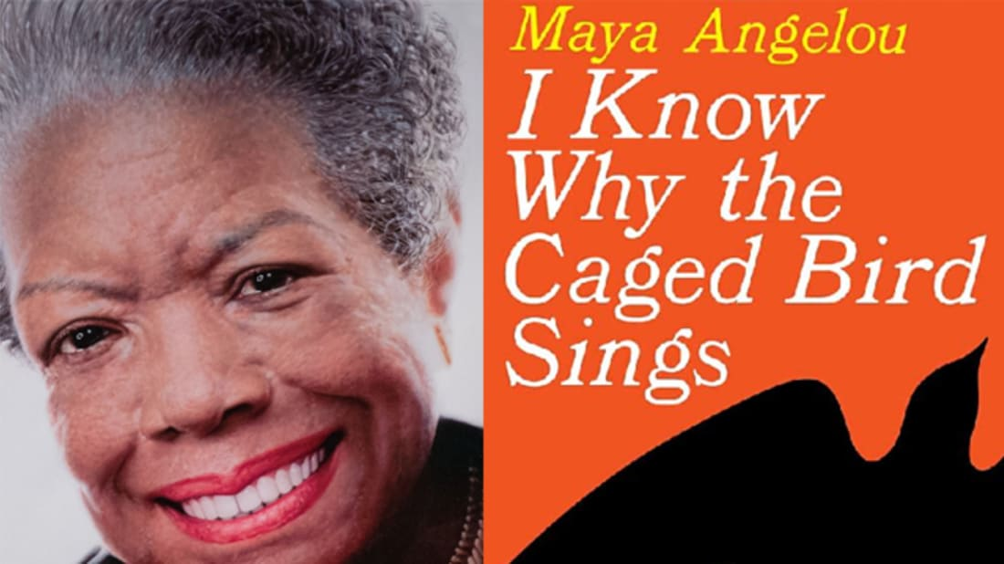 Getty Images (Angelou) // Amazon (Book cover)