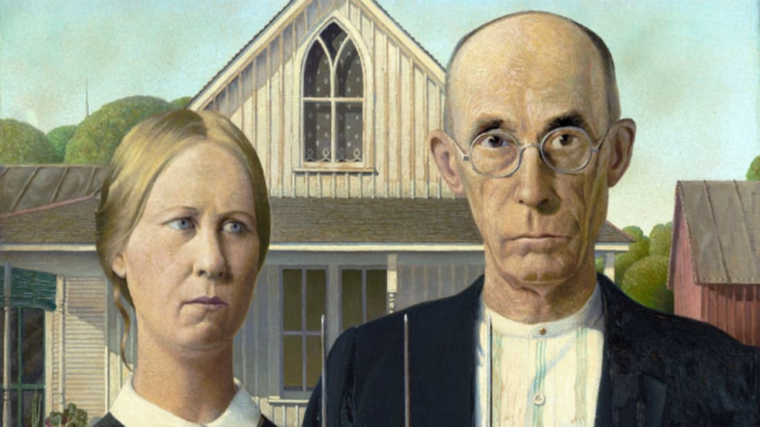 Grant Wood/Friends of American Art Collection via Wikimedia Commons // Public Domain