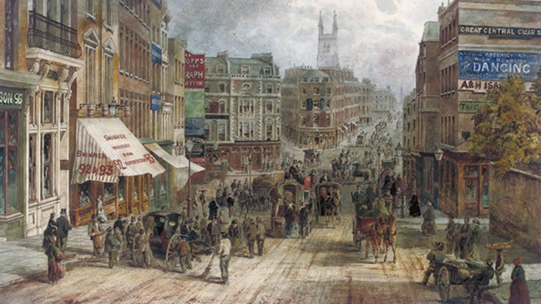 19th century London. Image Credit: Christie's via Wikimedia Commons // Public Domain