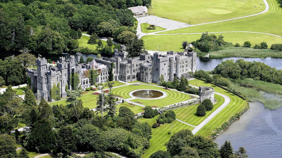 Ashford Castle by Larry Koester, Flickr // CC BY 2.0