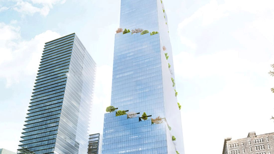This Manhattan Office Building Will Have Green Space on Every Floor