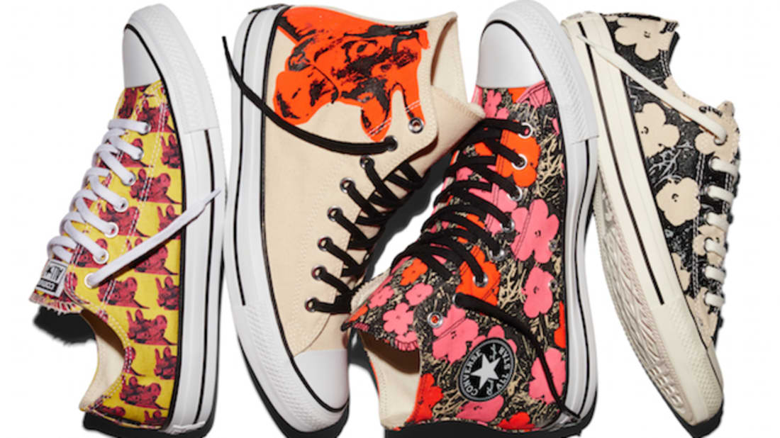 2362abc6ed6269 Converse Drops Warhol-Themed Sneakers That Glow in the Dark