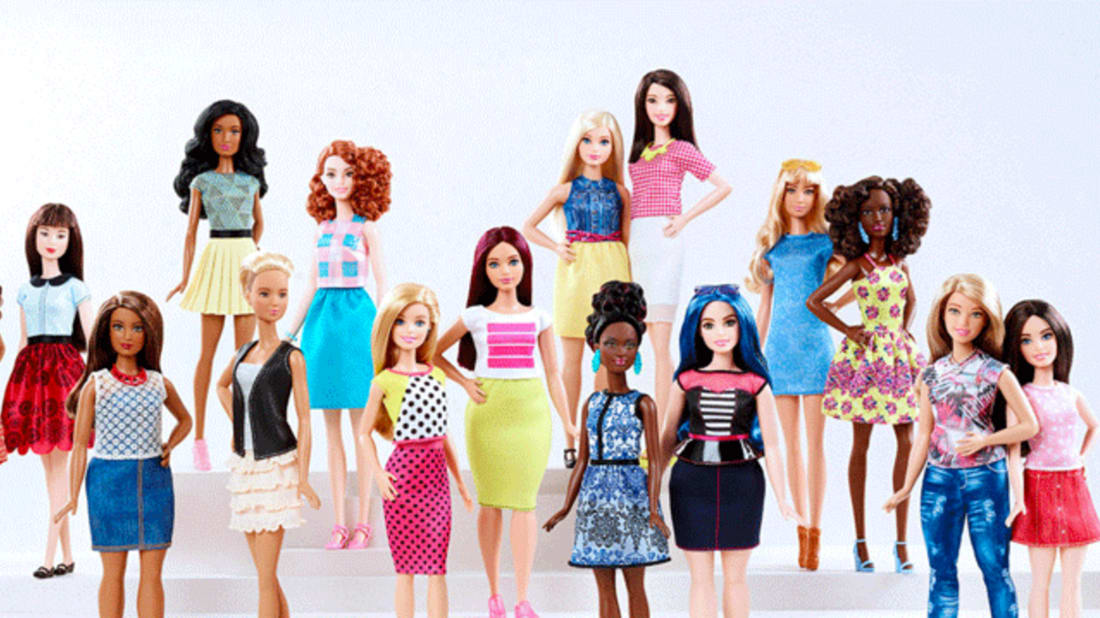 Mattel S New Barbie Comes In A Variety Of Skin Tones And