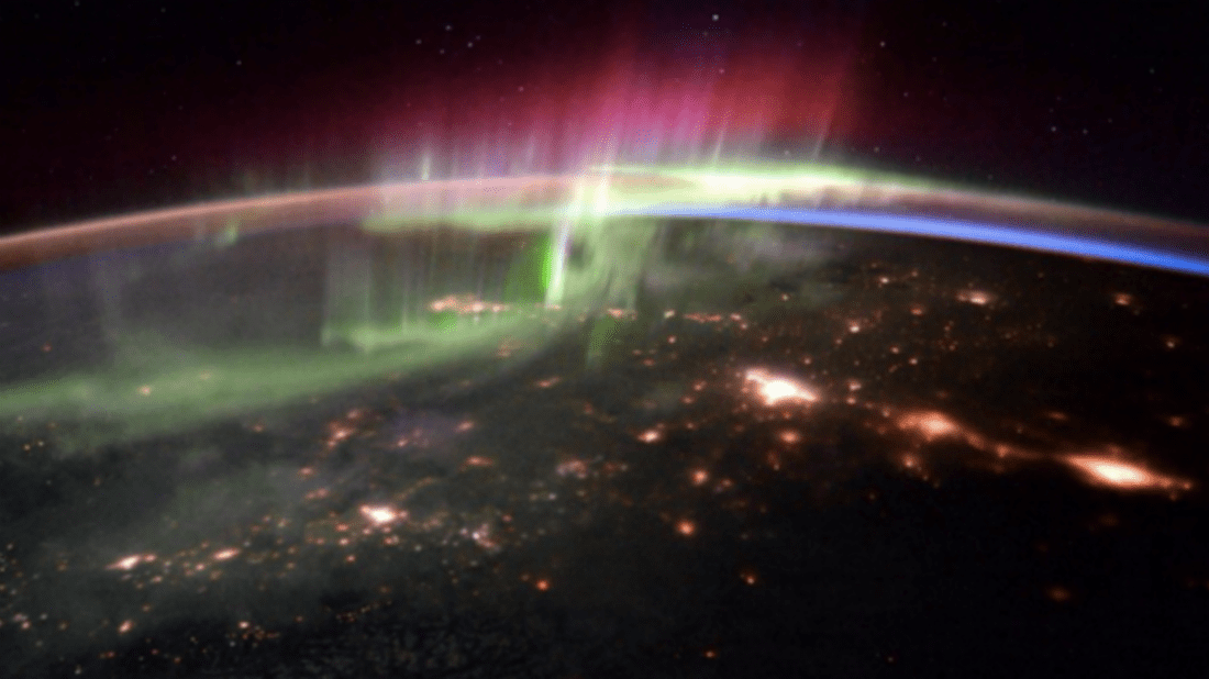 See What the Northern Lights Look Like From Space | Mental Floss