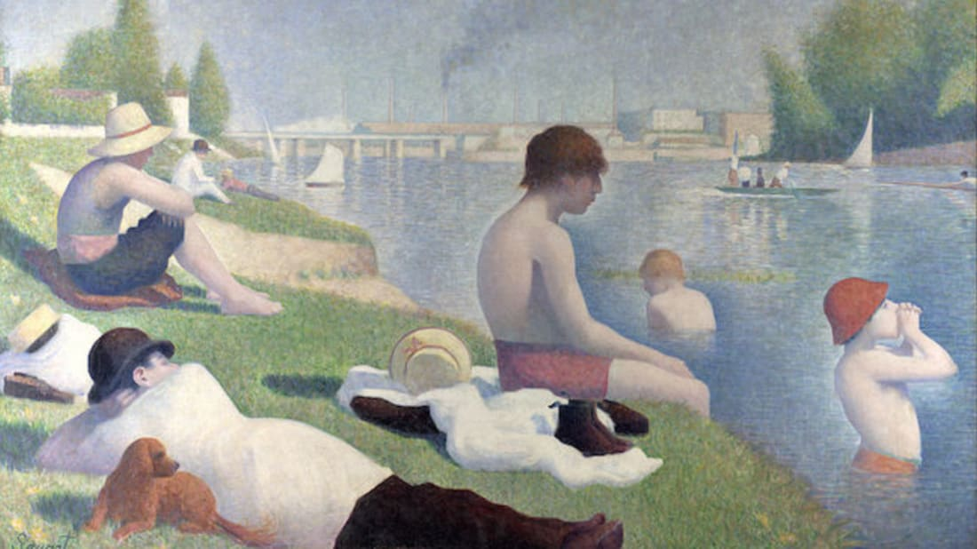 Georges Seurat via National Gallery, London