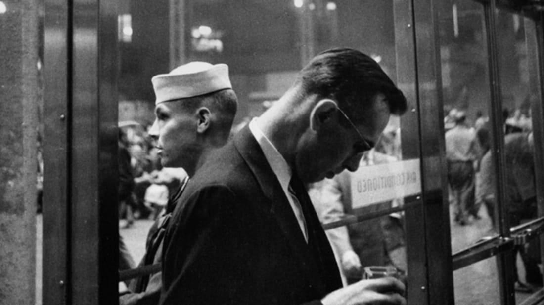 Louis Stettner, Penn Station, 1958 © Louis Stettner, 2015