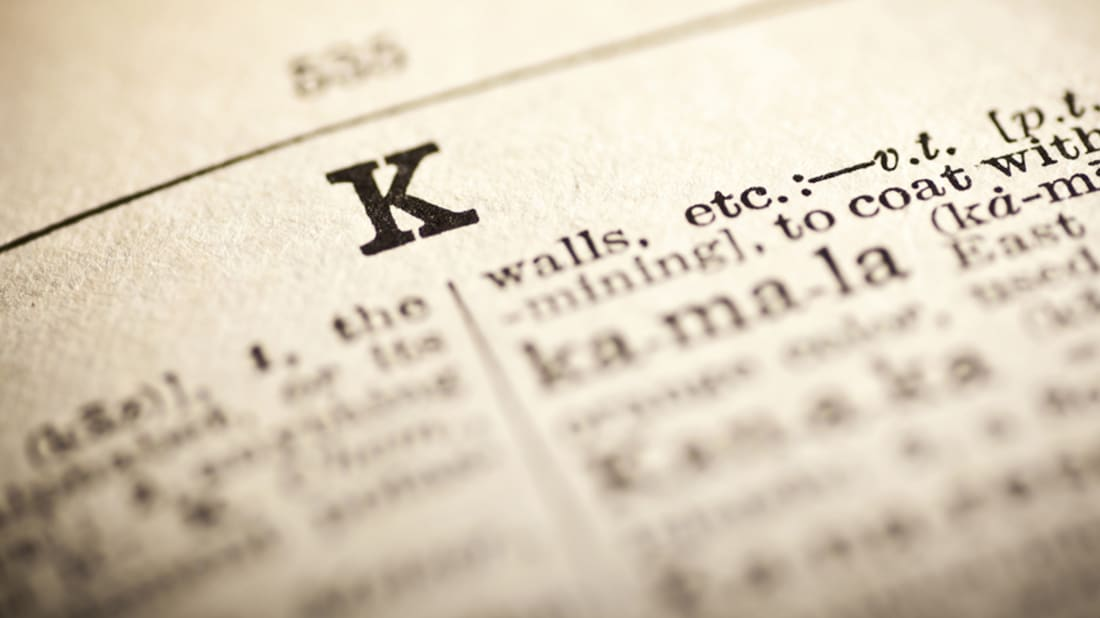 40 Killer K-Words To Add To Your Vocabulary | Mental Floss