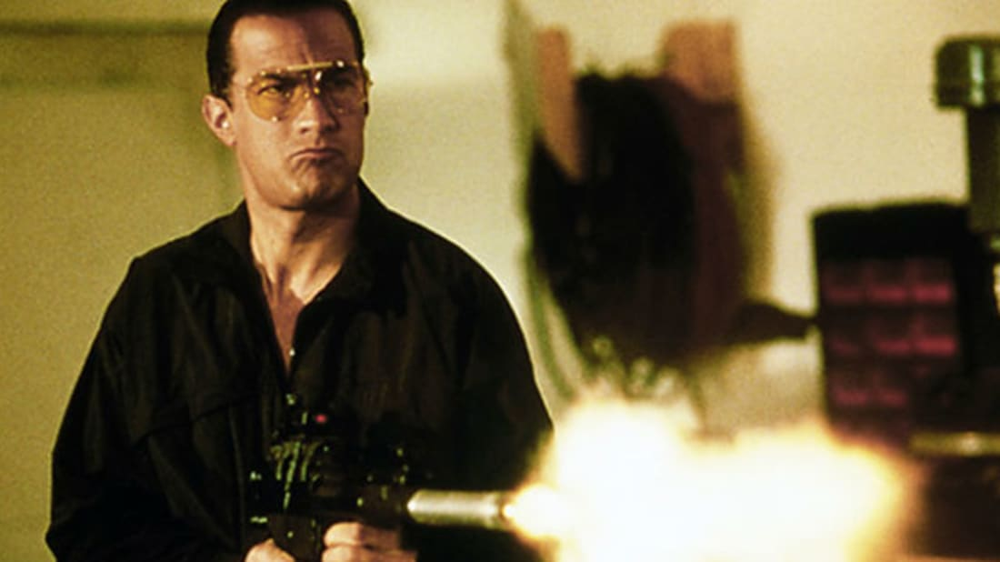 Steven Seagal in 'Marked for Death' // 20th Century Fox