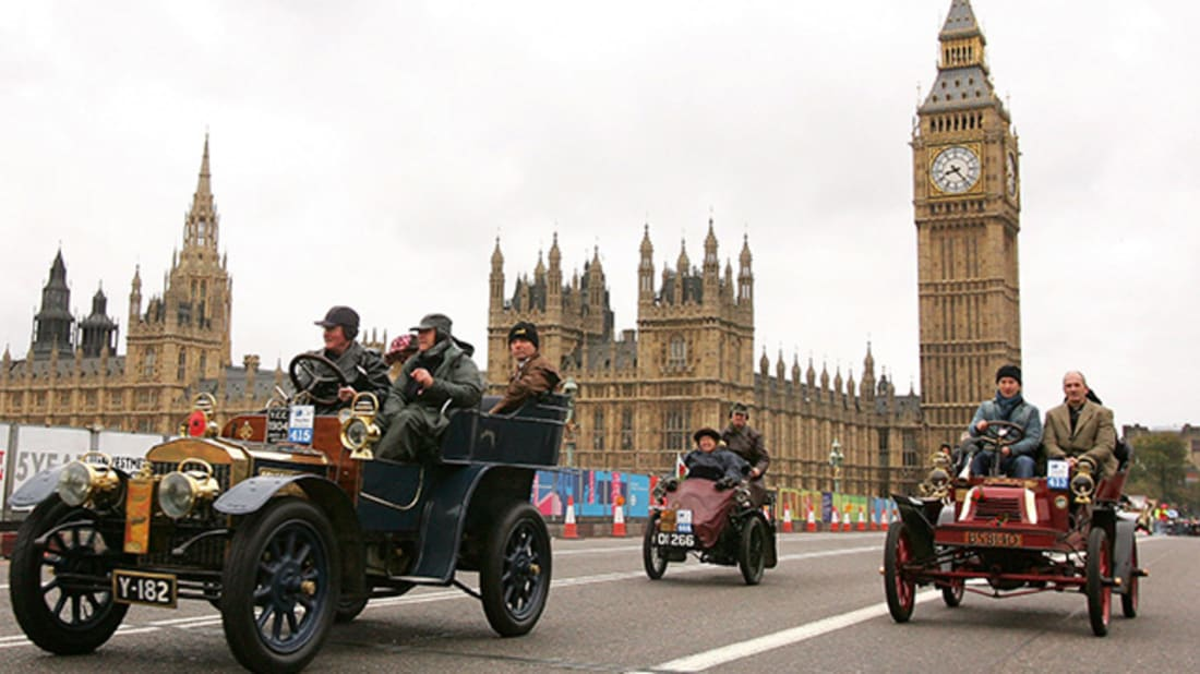Scott Barbour/Getty Images (London To Brighton Veteran Car Rally)