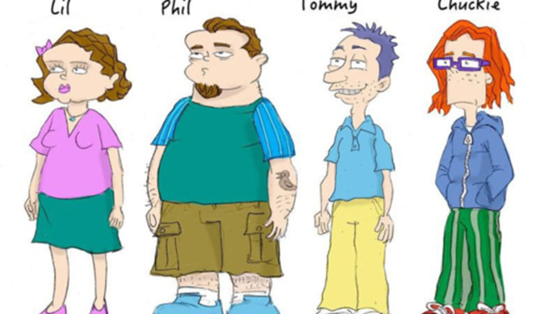 Former 'Rugrats' Storyboard Artist Imagines the Characters