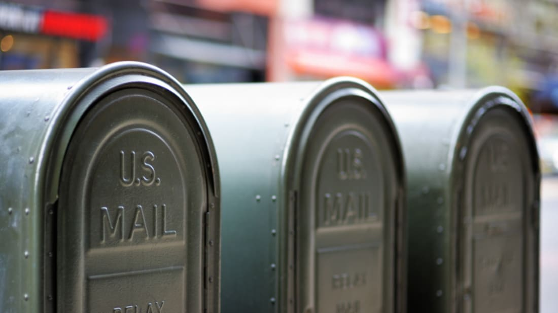 What Are Those Dark-Green Mailboxes That Don't Accept Mail? | Mental
