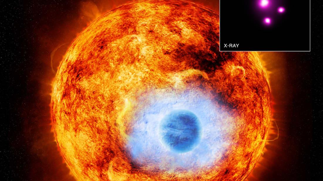 X-ray: NASA/CXC/SAO/K. Poppenhaeger et al; Illustration: NASA/CXC/M. Weiss